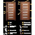 Интериорна врата модел P 204